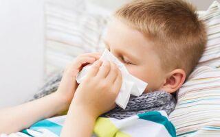 Причины и лечение поноса при простуде у ребёнка
