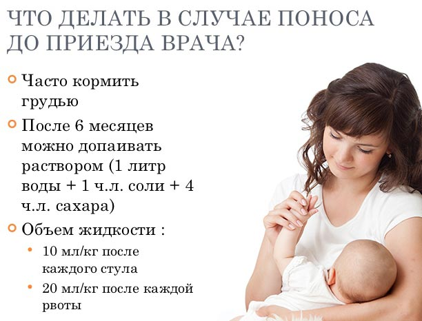 что делать если у новорожденного жидкий стул