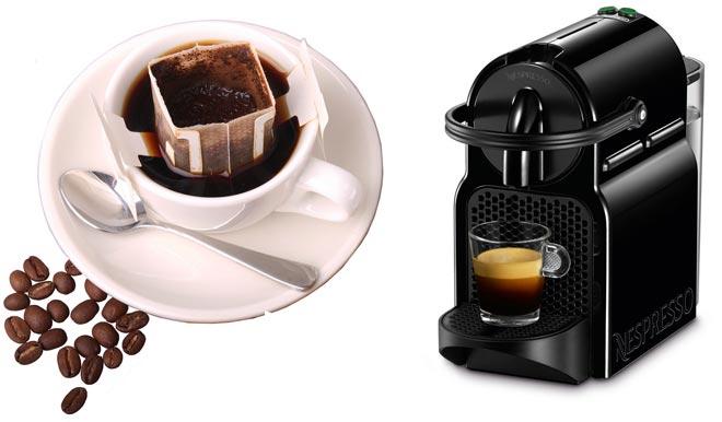 Фильтр-пакет и кофе-машина