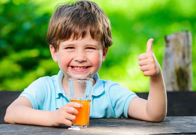 мандариновый сок для детей